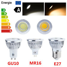Dimmable 6W 9W 12W MR16/GU10/E27 CREE LED COB Bombilla Spotlight Down Light Bulb
