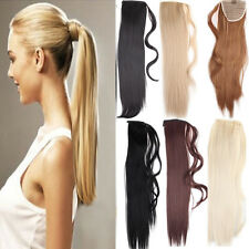 Beauty Lady Wowen Long Straight Claw Clip In Ponytail Pony Tail Hair Extension