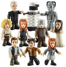 DR WHO MINI FIGURES SERIES 2 CHARACTER BUILDING MICRO SUPER DOCTOR WHO  RARE