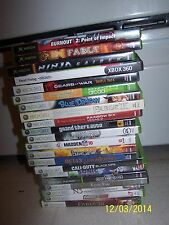 Xbox 360 Replacement Cases & Manuals! Lots to Choose!! Xbox/ Xbox 360! LOOK!!!
