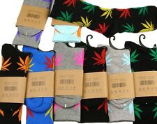 New Plantlife Maple High Men Women Leaf Cotton Marijuana Weed Ankles Socks e
