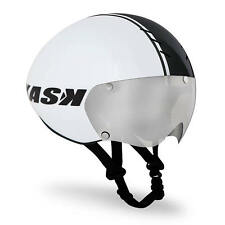 £100 OFF 2014 KASK BAMBINO WHITE +VISOR TT Time Trial Triathlon Aero Bike Helmet