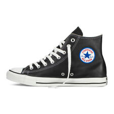 Converse Chuck Taylor All Star Leather HI 1S581 Black Men Women Shoes