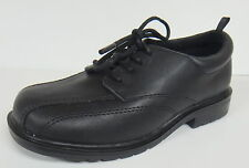 HEALTHTEX TODDLER BOY'S BLACK LACE UP DRESS SHOES OXFORDS NEW 7,8,9,10