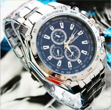 Mens Watches Quartz Stainless Steel Analog Sports New Wrist Watch