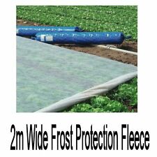 Frost Fleece 2m wide 17gsm plant protection cold winter greenhouse polytunnel