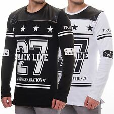 ReRock 958 Longsleeve Leder 27 Stepp Sweater Pullover Sweat Shirt Zipper Pulli