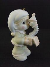 """PRECIOUS MOMENTS """"GOD SENT YOU JUST IN TIME"""" - ORNAMENT - #113972 - NEW IN BOX"""