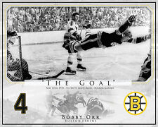 Bobby Orr 'The Goal' Boston Bruins Custom photo