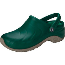 Anywear Zone Hunter Green Slip Resistant Nurse Medical Clog Shoes Sz 5-11 NIB