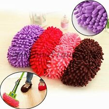 1 Mop Slipper Floor Polishing Cover Cleaner Dusting Cleaning Supplies Shoe Broom