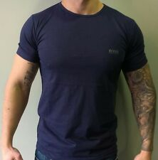 Hugo Boss Short Sleeve T-shirt - Color: Navy. Size S M L XL 2XL 3XL