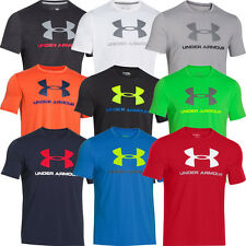 2015 Under Armour Mens Charged Cotton Sportstyle Logo Tee Training Top T-Shirt