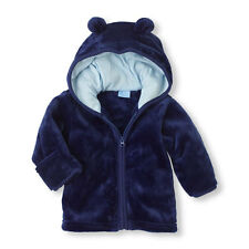The Childrens Place Faux-Fur 3D Ears Jacket Hoodie Hoody Toddler $29.99 MSRP