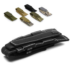 Tactical MOLLE Single Pistol Mag Magazine Knife Flashlight Tool Pouch Holder