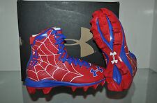Under Armour Alter Ego SPIDERMAN Highlight Clutchfit Football Cleats Youth NIB