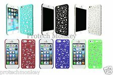 for iPhone Rubber Bird Nest Basket Weave Design Slim Hard Cell Phone Case Cover
