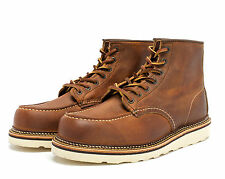 "RED WING BOOTS 6""MOC TOE 1907 MADE IN THE USA"