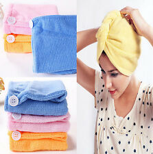 Free shipping The new quick-drying microfiber hair towel wrapped turban