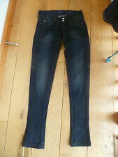 MISS SIXTY STYLE STORY 2ND SKIN SKINNY TROUSERS JEANS WASHED BLACK 23 WAIST TEEN