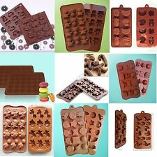 Diy Ice Cube Silicone Cake Chocolate Candy Fondant Molds Mould Baking Tools