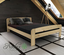 Wooden Furniture Solid Pine Small Double Bed 4ft/Select Underbed Storage - TWO