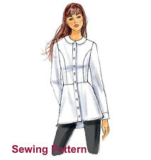 Butterick B6097 Pattern - Misses Shirt - Size 6 -  22 - New