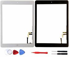 New Glass Touch Screen Digitizer For iPad Air 5 + Adhesive + Home Button + tools