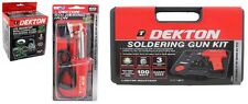 Dekton Soldering Iron Or Soldering Gun kit and Soldering Accessories