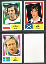 FKS Argentina 78 #181-#240 World Cup 1978 Football Stickers Priced Individually