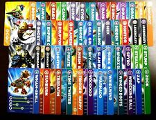 SKYLANDERS Spyro's Adventure TRADING CARDS choose from 49 different characters!