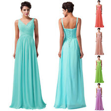 Long Cocktail Bridesmaid Evening Prom Party Graduation Dresses Quinceanera Gowns