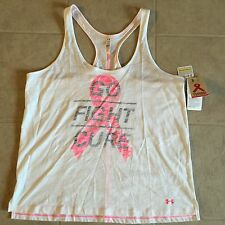 Women's Under Armour Power In Pink Breast Cancer the Curve Tank