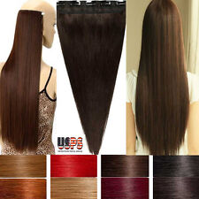 Real AAA 100% Ultimate Quality Clip In Remy Human Hair Extensions One Piece F689