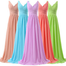 2015 PROMO~Elegant Evening Formal Party LONG Prom Dress Homecoming Gowns 8Size