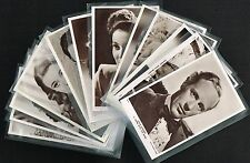 Picturegoer 'W' Series Film Star Postcards 1940/50s (priced individually) Movie