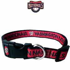 MLB Fan Gear WASHINGTON NATIONALS Nylon Collar for Dog Dogs Puppy Puppies
