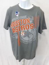 Houston Astros Baseball Short Sleeve T-Shirt Gray