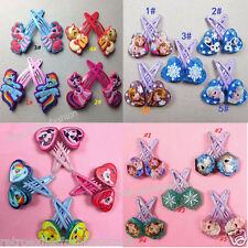 NEW Cartoon Kids Girls Delicate My Little Pony Hair Clips Barrette Bobby Pin LOT
