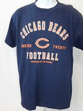 Chicago Bears Football Short Sleeve T-Shirt Navy New with Tags