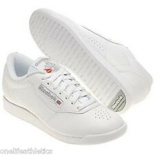 Reebok Princess Classic Wide White Womens athletic walking shoes