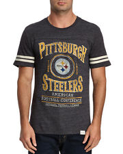 Pittsburgh STEELERS NFL Football Varsity Stripes T-SHIRT Junk Food NWT 50% off!