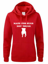 MADE FOR HUGS NOT THUGS - Staffordshire Bull Terrier Women's Hoody / Hoodies