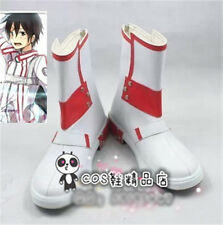 Sword Art Online Kirito Cosplay Shoes White and Red Shoes Free Shipping