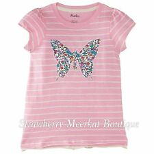 New Girls SS15 Hatley Graphic T Shirt Top Pretty Butterfly Age 7 8 *FREE P&P*