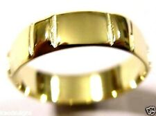 KAEDESIGNS, NEW GENUINE SOLID 9CT WHITE or ROSE or YELLOW GOLD WEDDING BAND RING