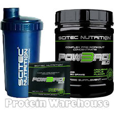 Scitec Nutrition Pow3rd 2.0 Pre Workout + Free Shaker Fast Free Delivery