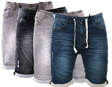 SUBLEVEL HERREN JOGG SHORTS JEANS SCHORT BERMUDA SWEAT SHORTS PANTS