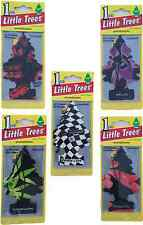 24 Pack Little Trees Car & Home Air Freshener Stregnth, Passion, New Car, etc