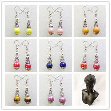 Wholesale!Beautiful Mixed Gemstone Earrings 1Pair or 9Pair XLZ-275